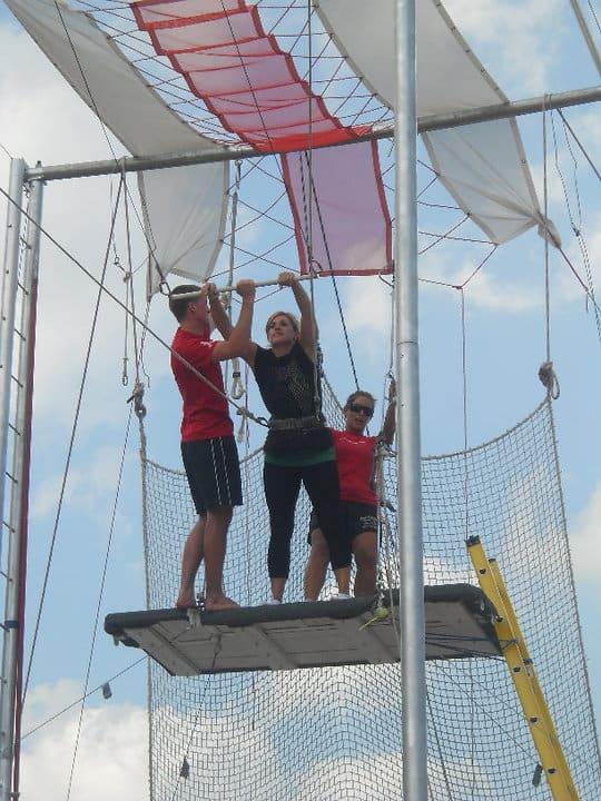 try the Trapeze Cincinnati Circus Company