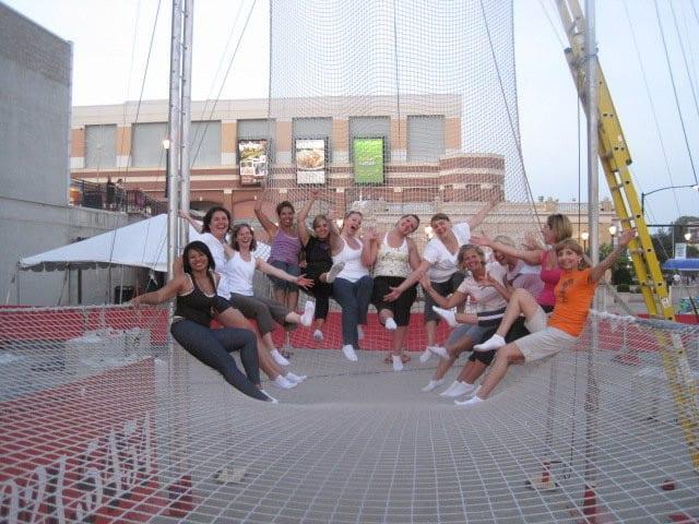 trapeze with Cincinnati Circus Company