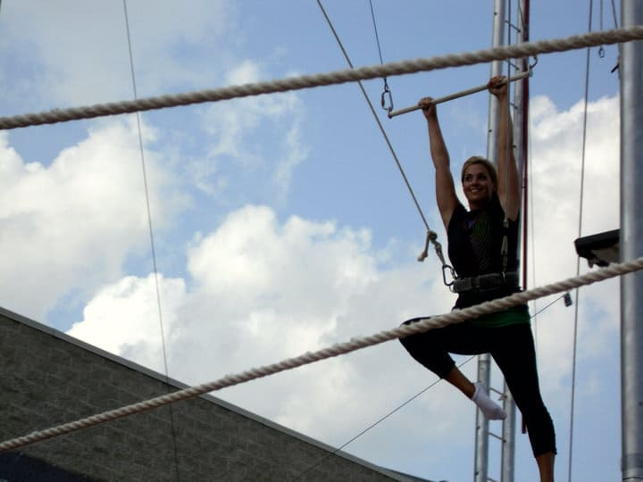 try the Trapeze Cincinnati Circus Company