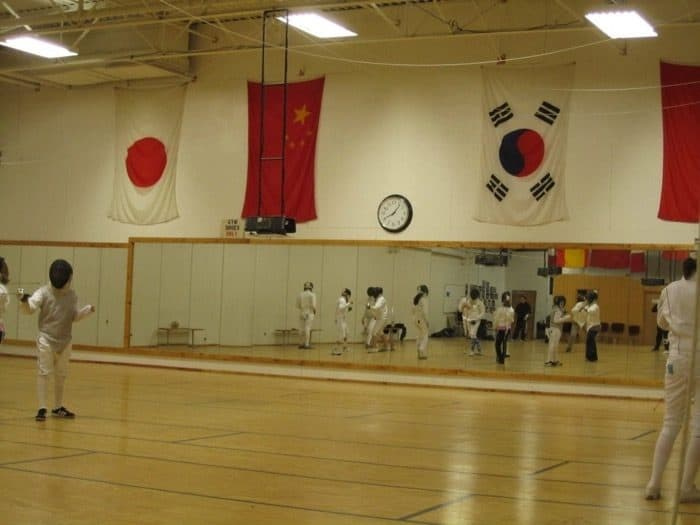 fencing class 2