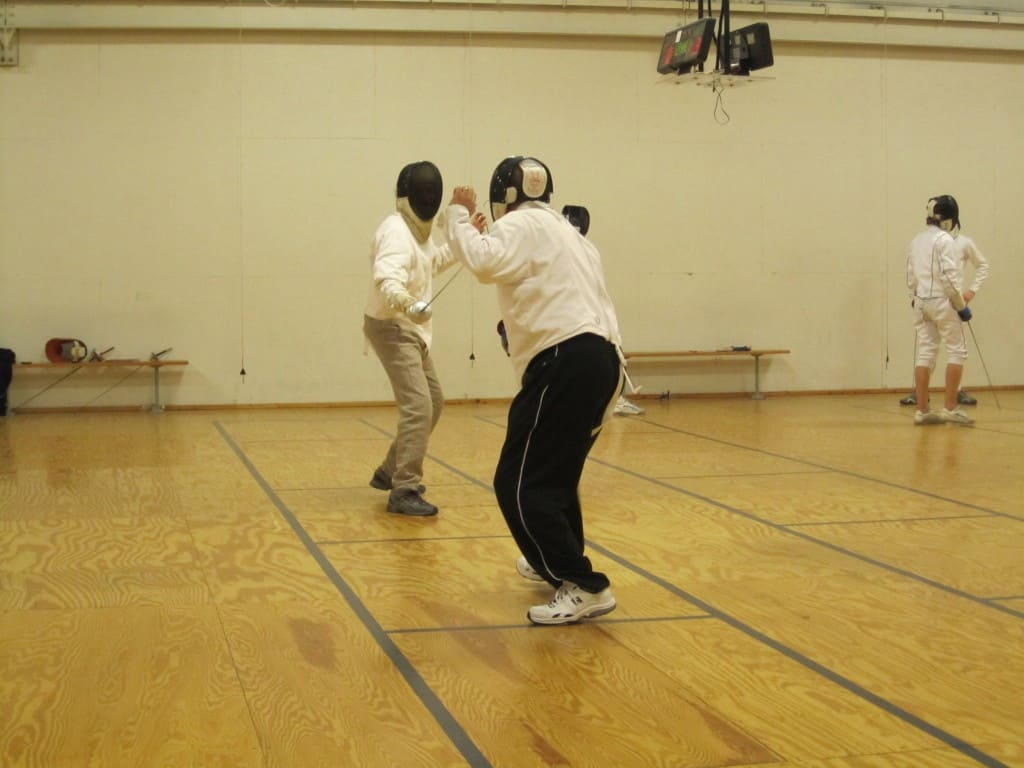 Fencing class Grand Rapids Michigan