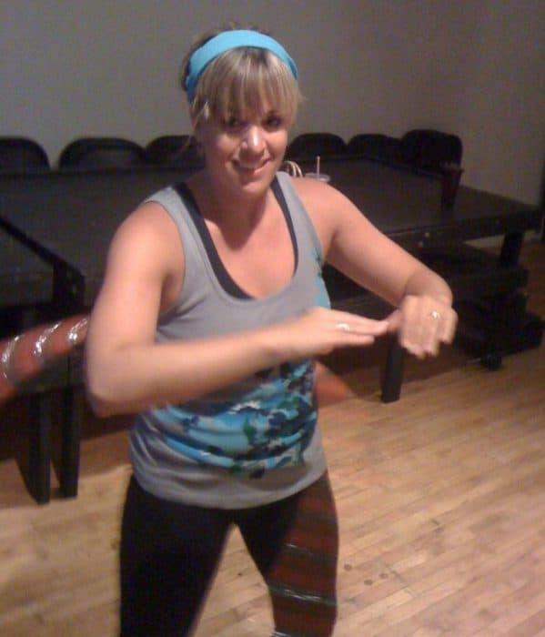Hula Hoop Exercise Class