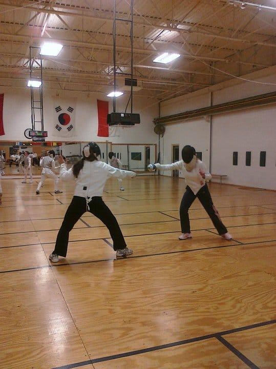 Fencing Class Adventure