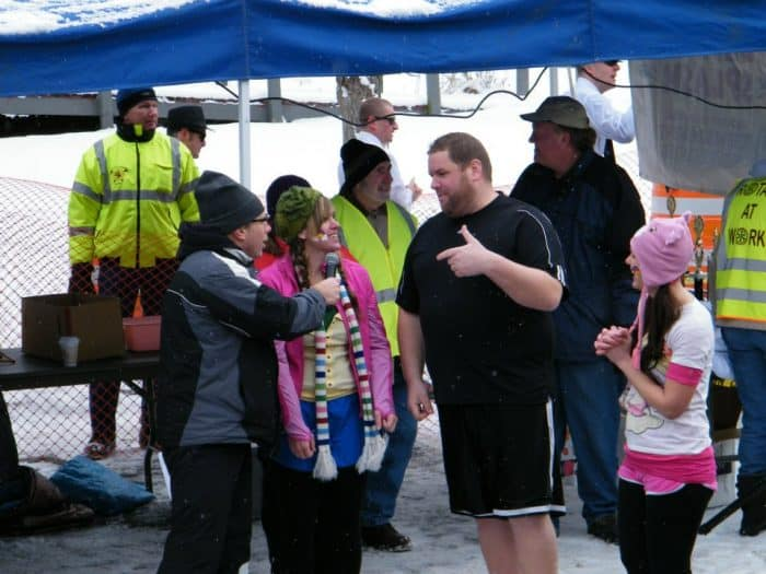 My 1st Polar Bear Plunge
