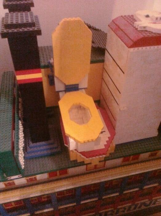 Anthony Torrone LEGO art