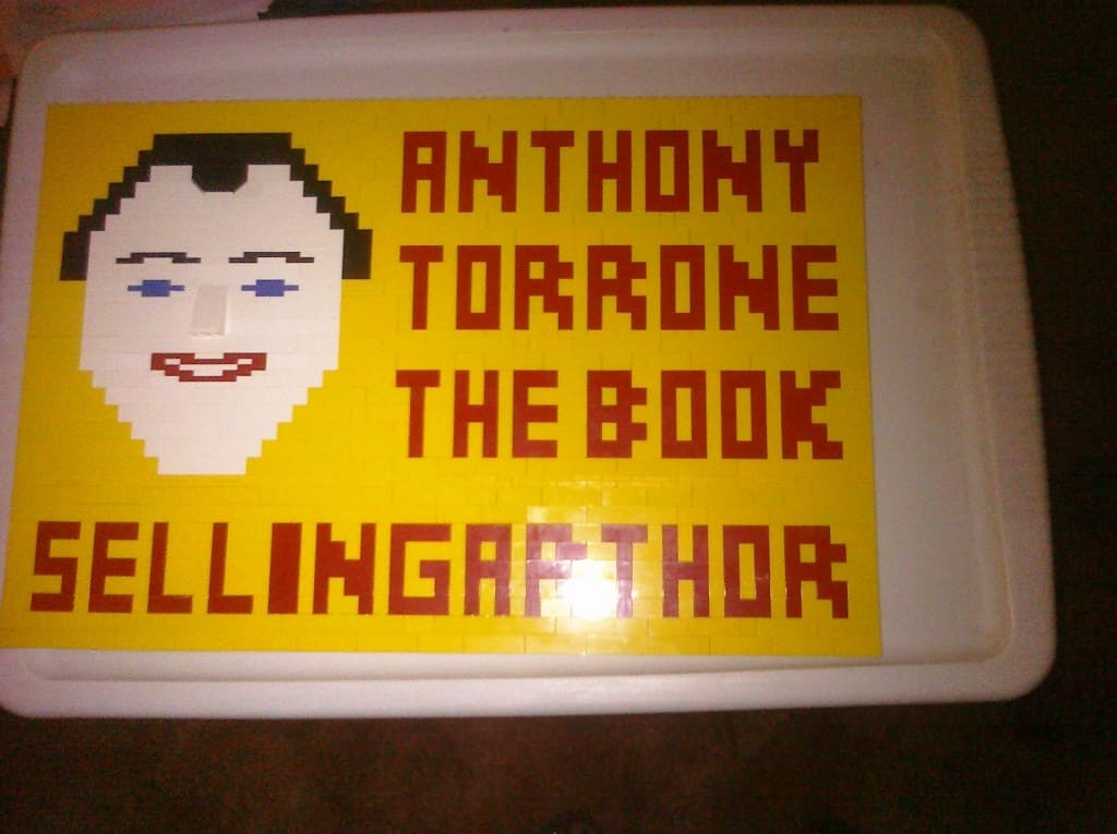 Anthony Torrone LEGO art