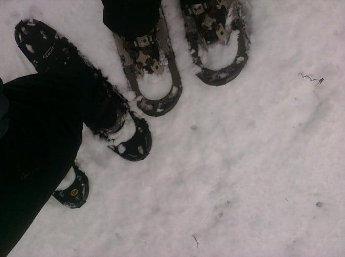 snowshoe date