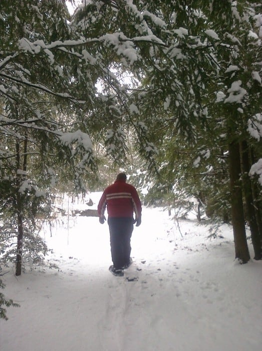 snowshoe in Michigan