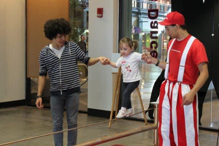 Family Circus Class with Cincinnati Circus Company