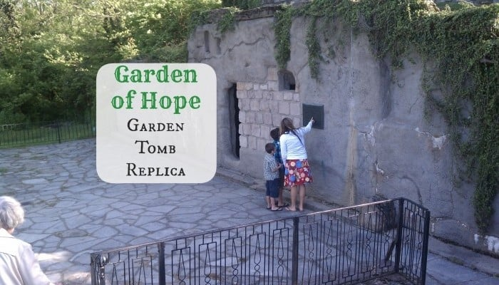 A visit to the Garden of Hope