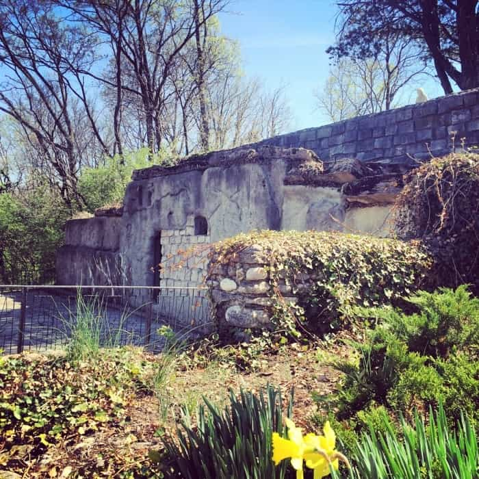 The Garden of Hope in Covington, Kentucky replica tomb