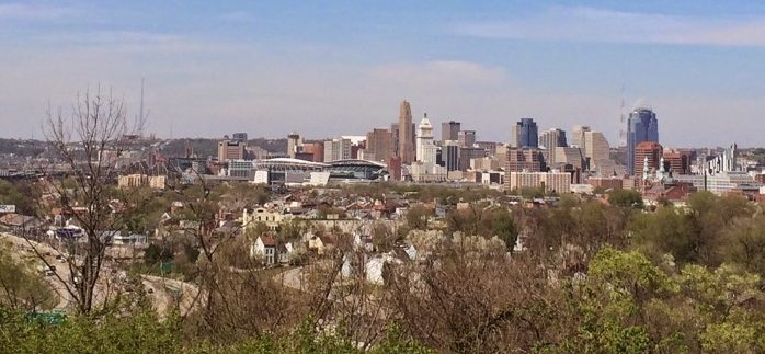 An Incredible View of Cincinnati from the Garden of Hope
