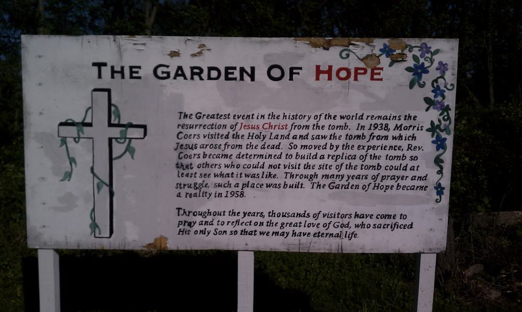 The Garden of Hope in Covington, Kentucky