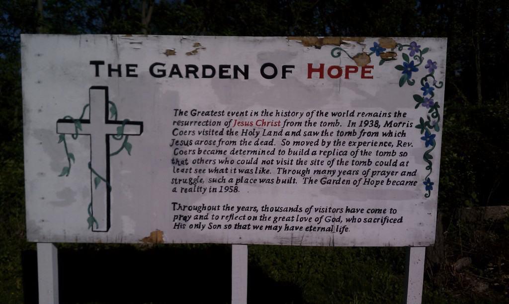 The Garden of Hope in Covington, Kentucky