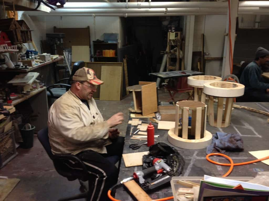 Woodshop at Heartside Gallery and Studio