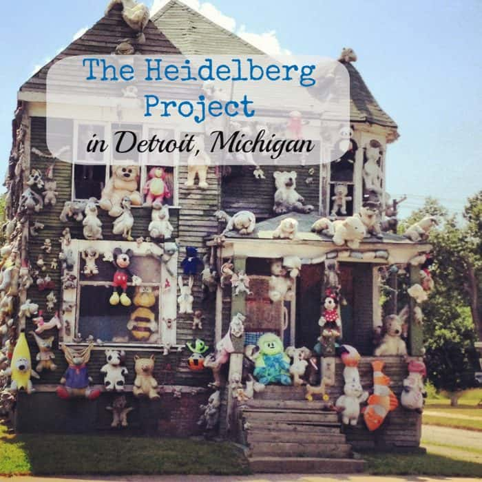 The Heidelberg Project in Detroit Michigan