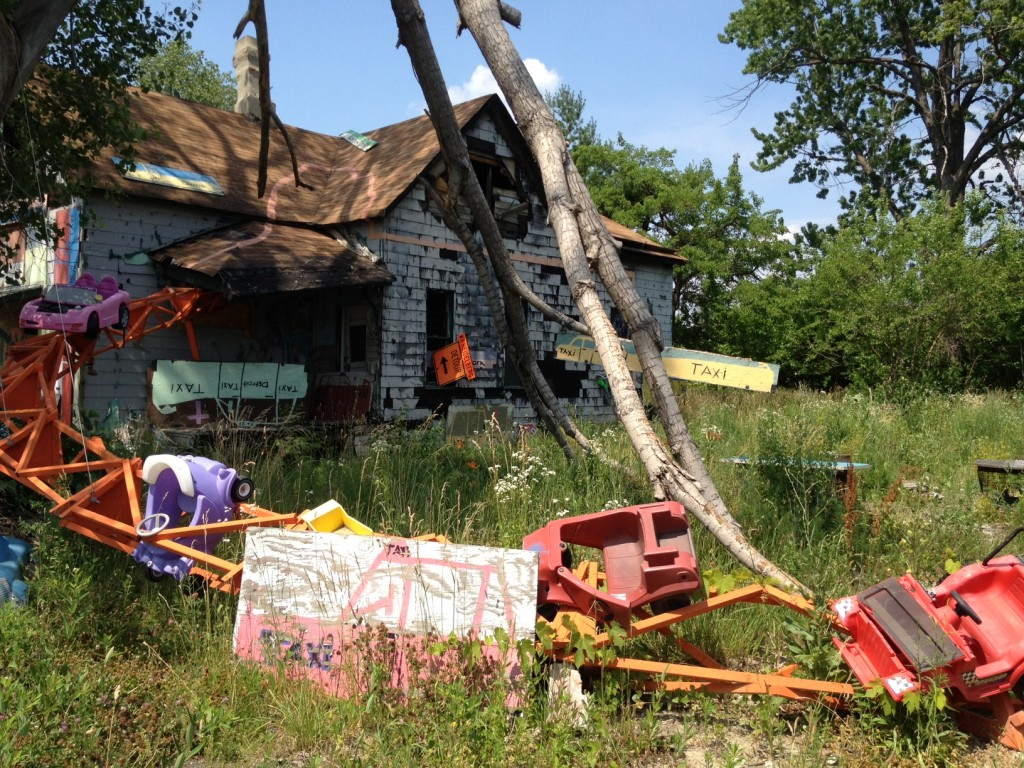 The Heidelberg Project in Detroit, Michigan