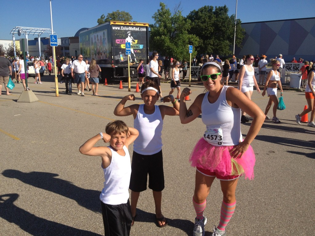 Color Me Rad Race Cincinnati, Ohio