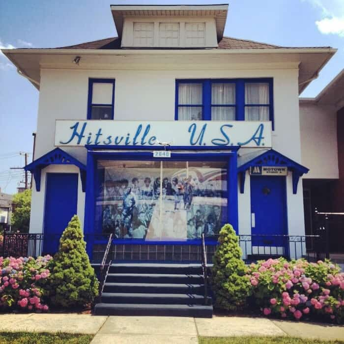 Hitsville USA Motown Museum in Detroit,Michigan