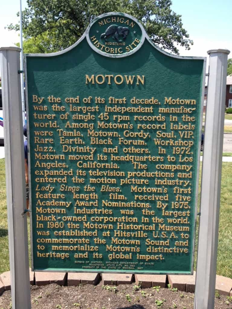 Hitsville, USA - A visit to the Motown Museum in Detroit, Michigan