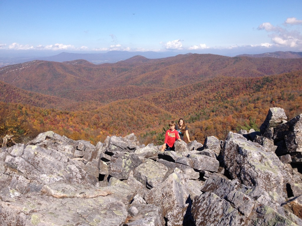 Taking the Scenic Route on Skyline Drive