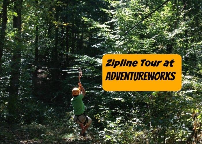 Zipline Tour at Adventureworks Cover