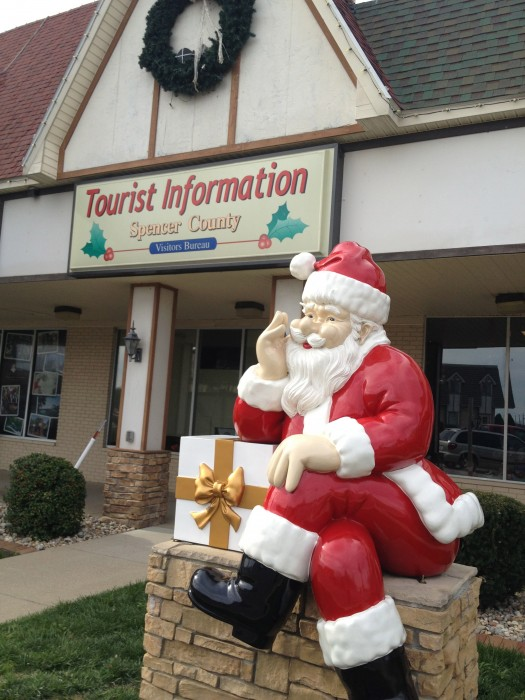 Spencer County Tourist Information in Santa Claus, Indiana