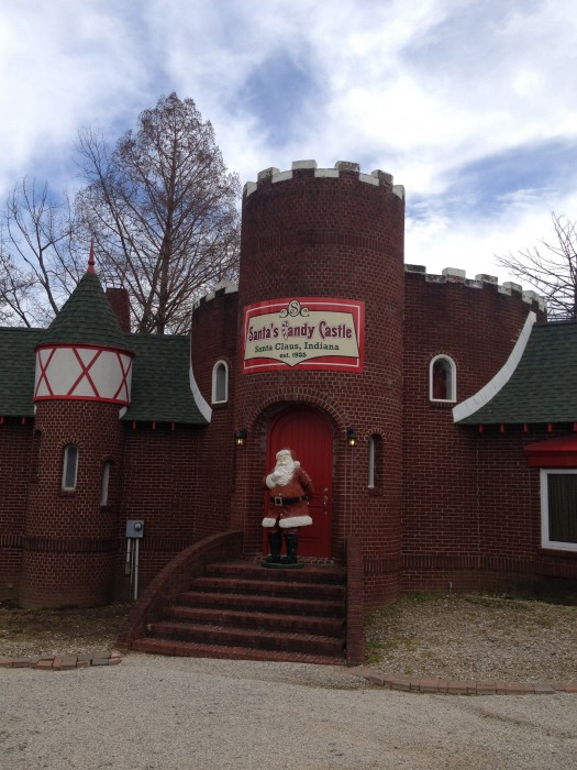 Santa's Candy Castle in Santa Claus, Indiana