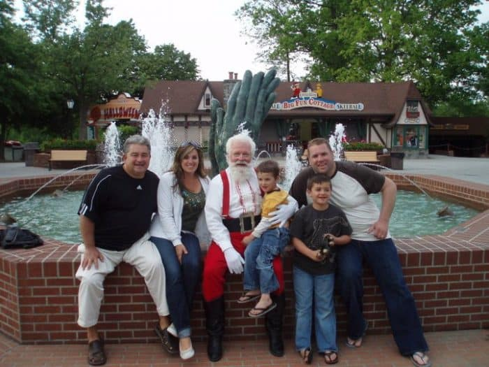 Holiday World in Santa Claus, Indiana