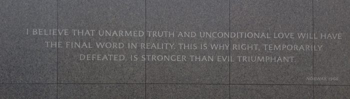 Martin Luther King Jr. Memorial Washington DC