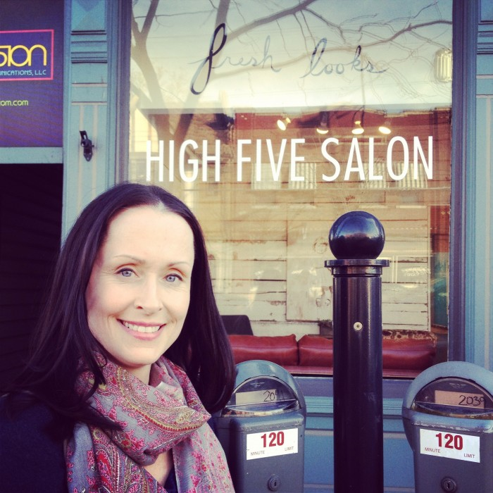 Big reveal from High Five Salon