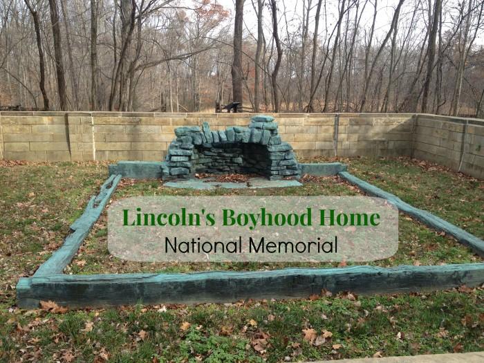 lincoln's boyhood home