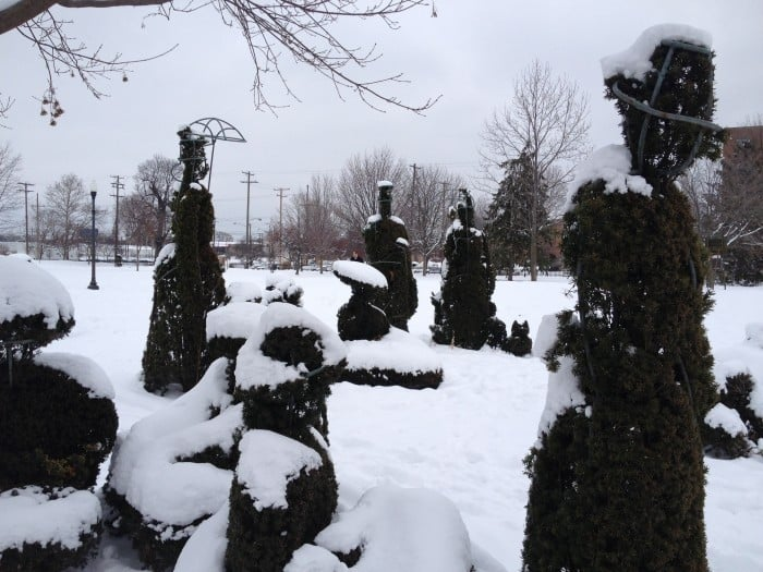 topiary park winter