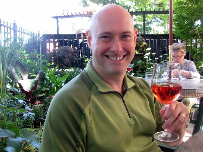 Mike Rosenberg of The Naked Vine