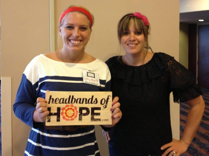 Jessica from Headbands of Hope