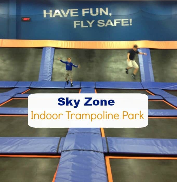 Sky Zone Indoor Trampoline Park Cover