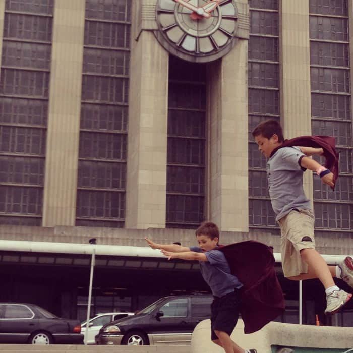 Superman's 75th Anniversary ~ Fun Photo Shoot at Cincinnati's Union Terminal