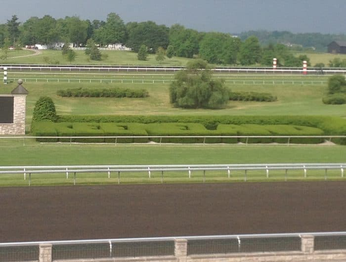 Keeneland Race Course Morning practice