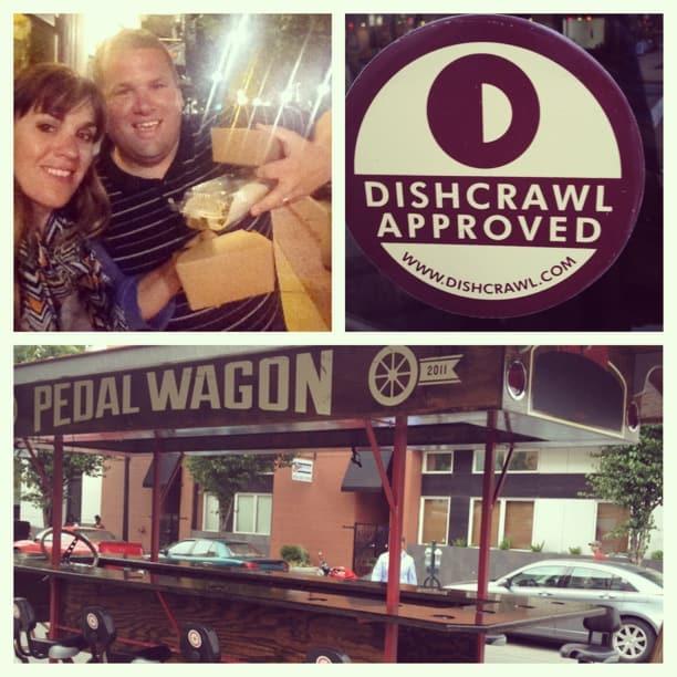 Dishcrawl Pedal Wagon Taco Tour