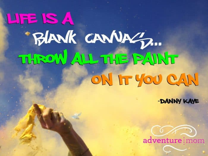Color Me Rad inspirational quote