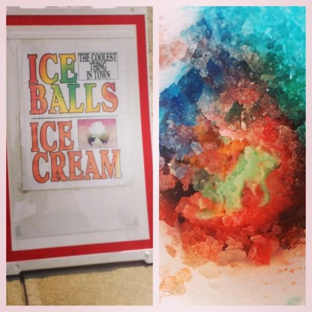 Schneider's ice balls with cream Bellevue,KY