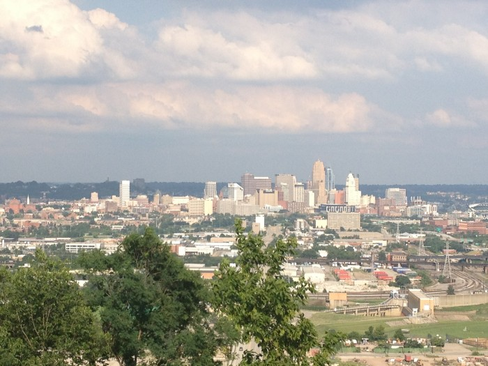 view from the incline Public House Cincinnati Ohio