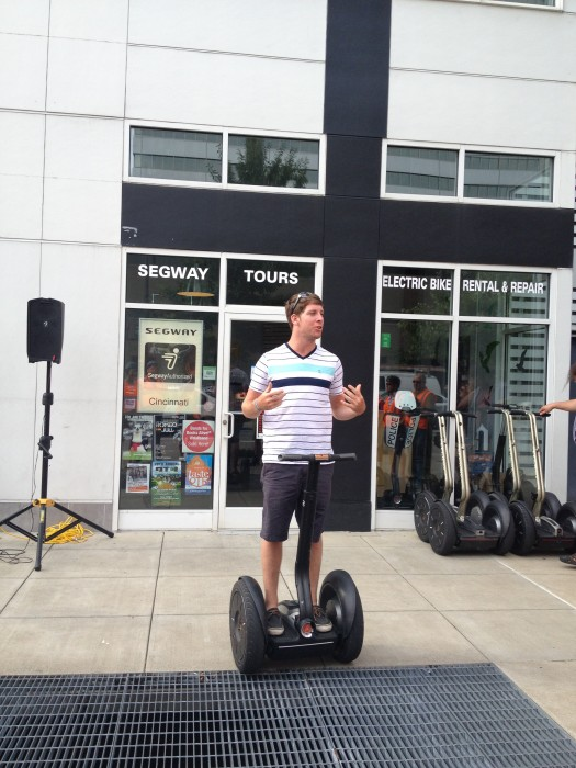 Segway of Cincinnati Riverfront Tour