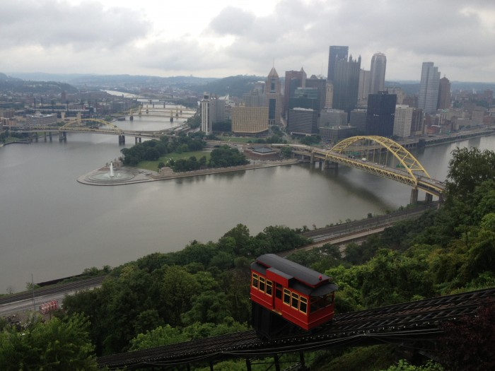 Dusquesne Incline in Pittsburgh