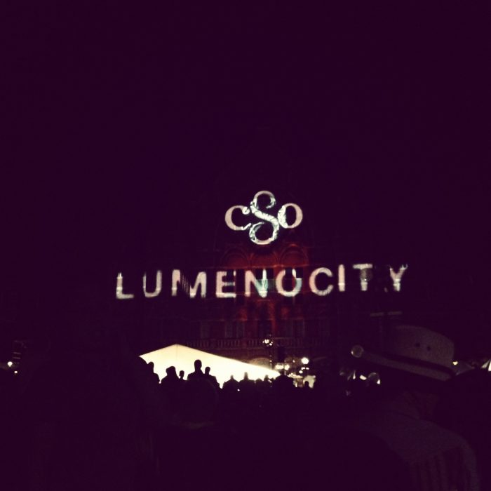 LumenoCity Washington Park Cincinnati Symphony Over the Rhine