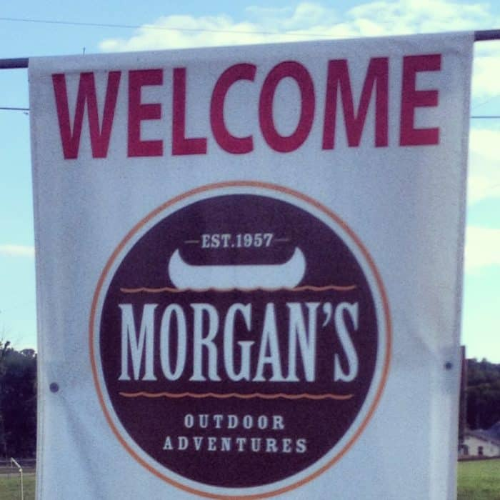 morgan's canoe outdoor adventure
