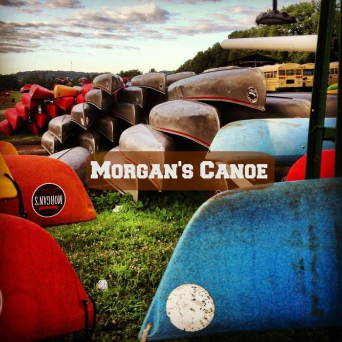 morgan's canoe pic