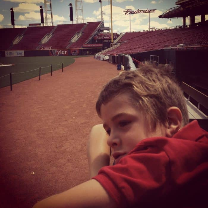 Scotts Ballpark Tour Cincinnati Reds Great American Ballpark