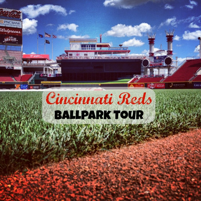reds ballpark tour pic