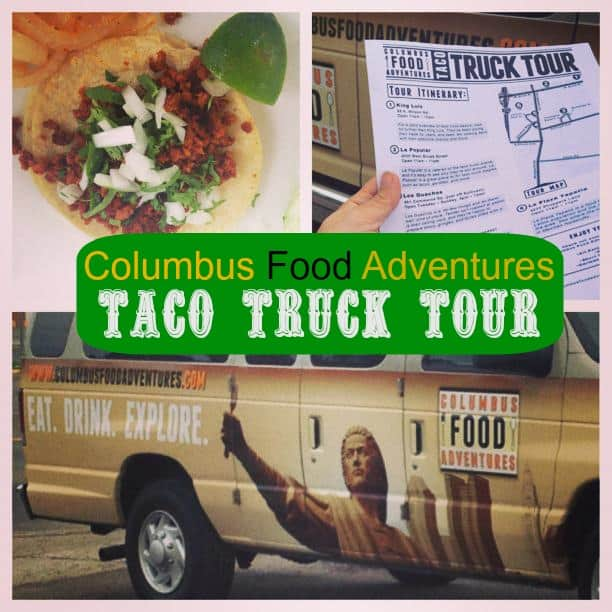 Columbus Food Adventures ~ Taco Truck Tour